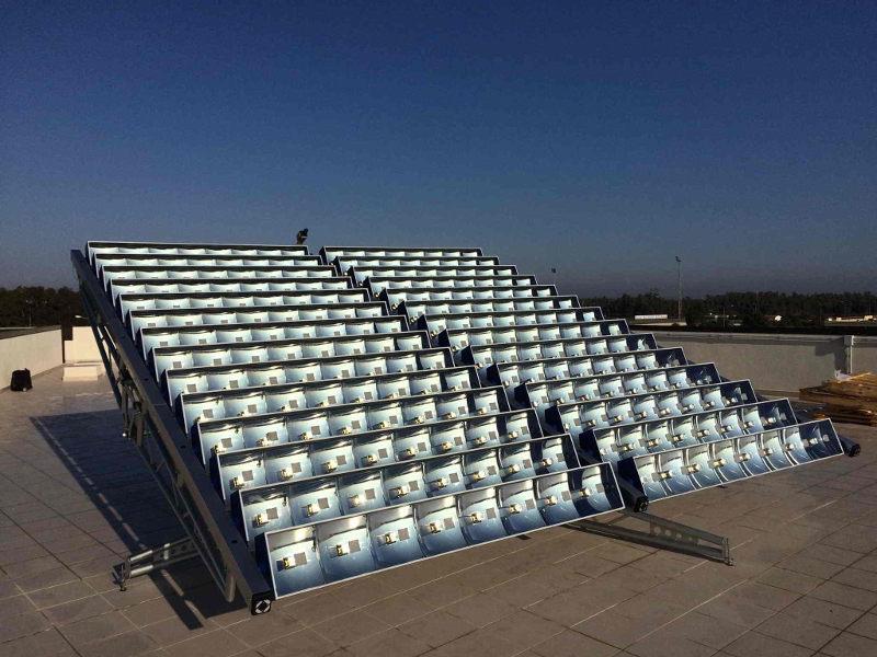Impianto fotovoltaico ad alta concentrazione