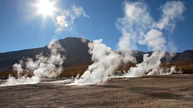 Recupero calore in un impianto geotermico per la produzione di elettricità