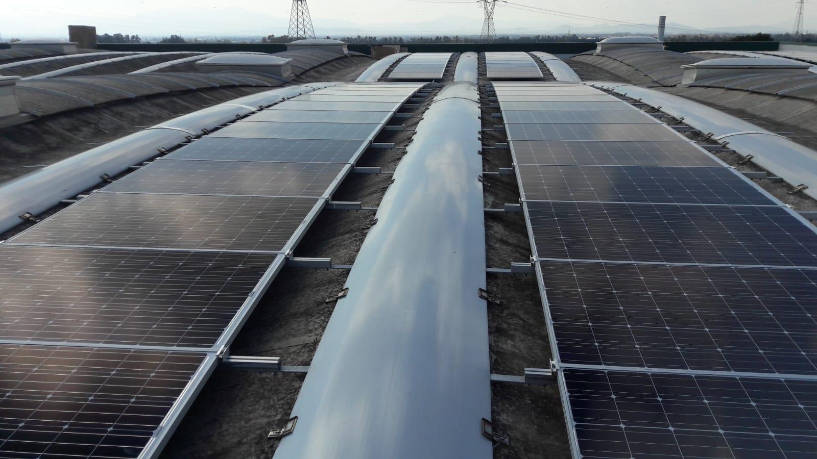 Il fotovoltaico su tetto più grande realizzato in Sardegna nel 2019
